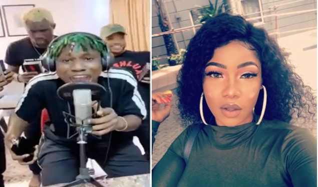 """I Didn't See Anything Wrong In What He Did"" – Tacha Speaks On Zlatan's Diss Track"