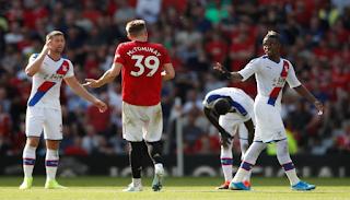 موعد مباراة مانشستر يونايتد وكريستال بالاس الأربعاء 3-3-2021 والقنوات الناقلة في الدوري الإنجليزي