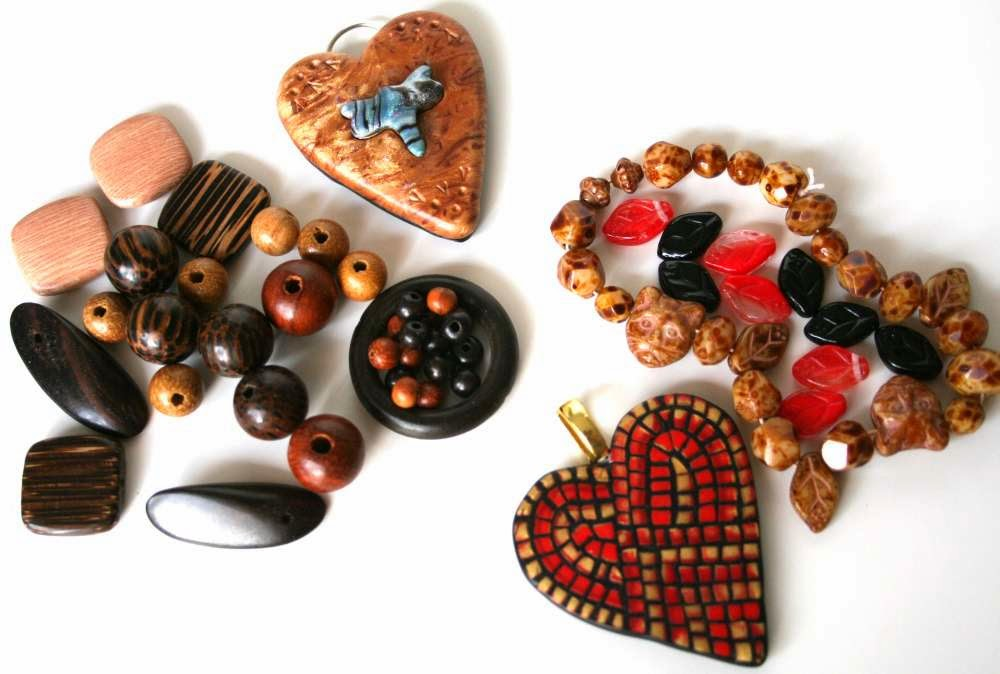 The Creative Continuum of 7 Artists - featuring Monique Urquhart: polymer clay, wood beads, crystal and gemstone :: All Pretty Things