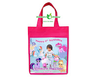 tas ultah anak, tas ultah little pony, tas souvenir ultah little pony, tas souvenir murah, tas ulang tahun, tas ultah pony murah