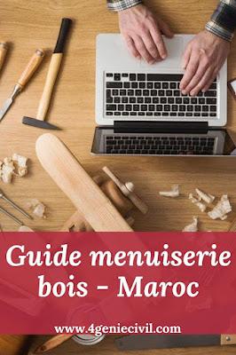 Guide de menuiserie en bois - Maroc