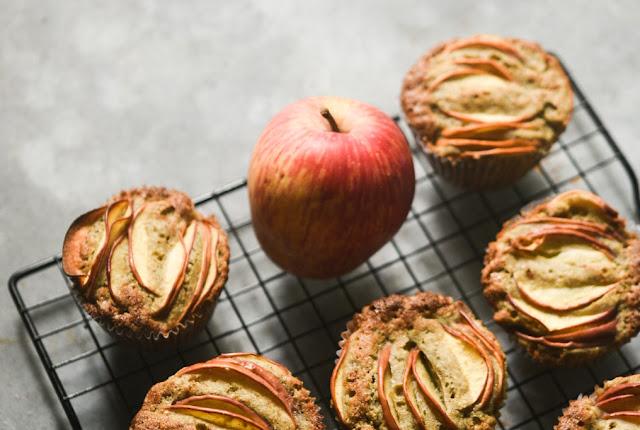 Bajra apple muffins   gluten free healthy cakes