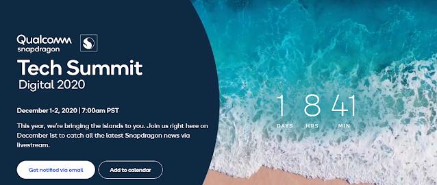 Qualcomm Snapdragon Tech Summit 2020