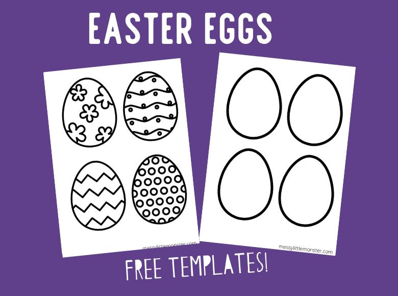 Printable Egg Template