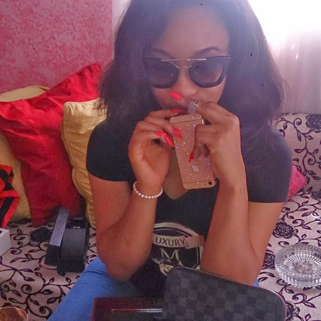 tonto dikeh rolex watch