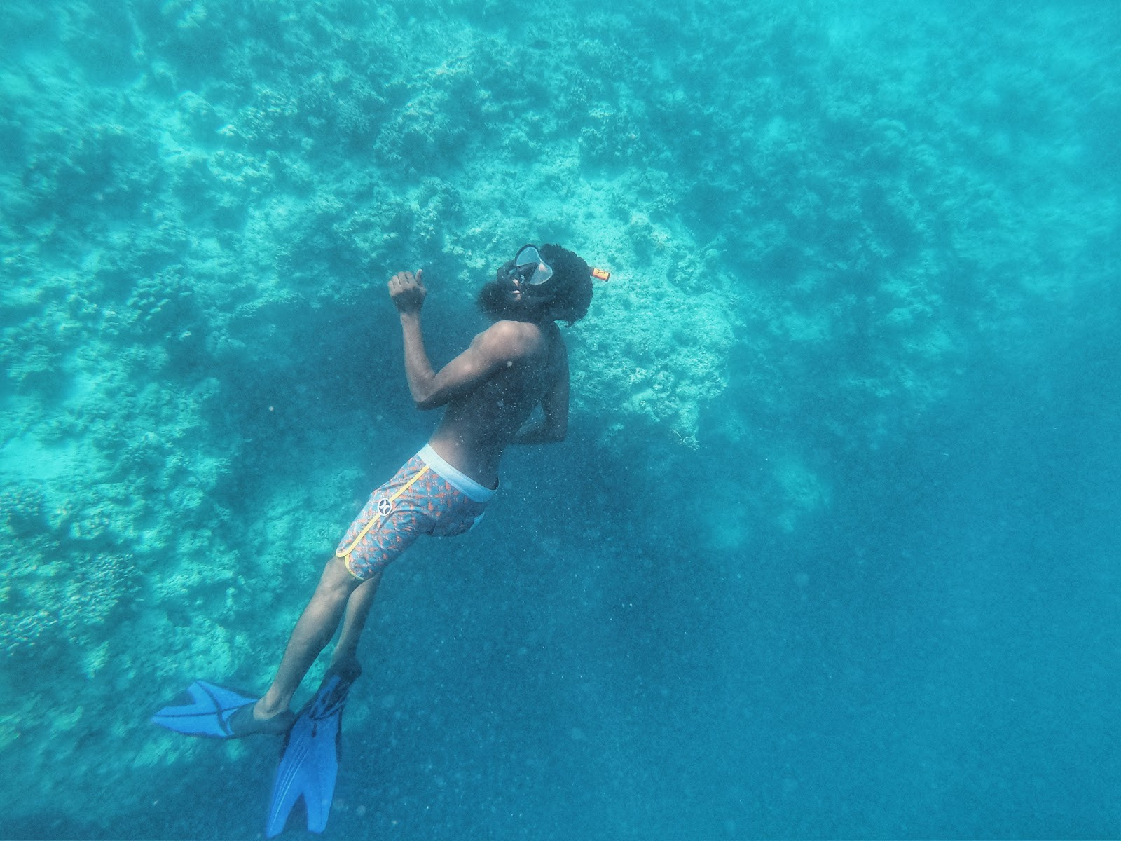 Snorkeling at Thulusdhoo