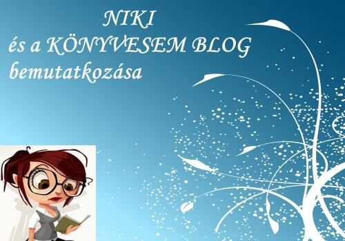 Niki és a Könyvesem blog bemutatkozása