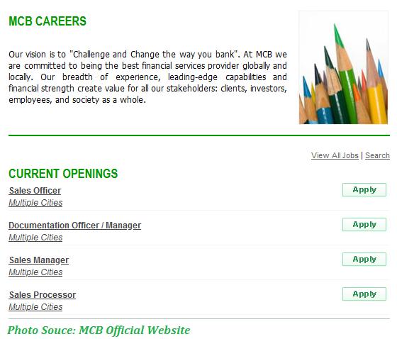 MCB Jobs 2021 - Latest Jobs in MCB January 2021 Apply Online