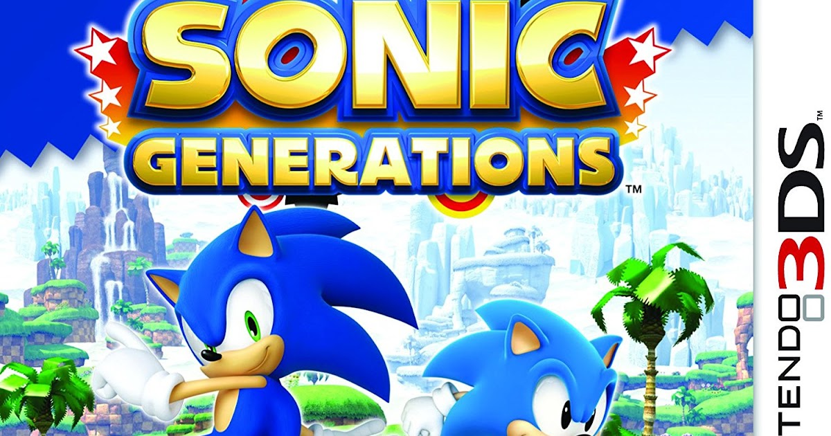 Sonic Generations | Download 3DS CIAs