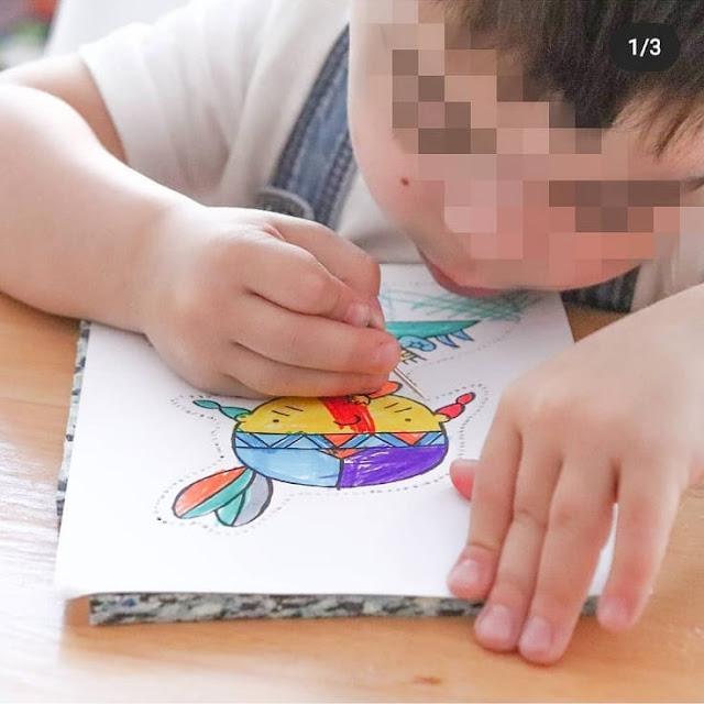 activite poinconnage enfant