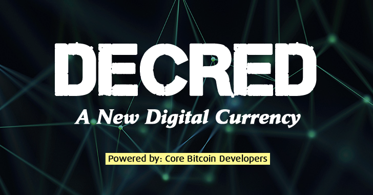 Decred Bitcoin Currency Some Of Bitcoins Core Developers