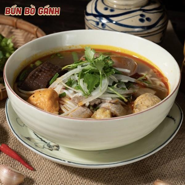 Bún Bò Huế Đặc Biệt (Không Giò) - Special (Mixed) Noodles