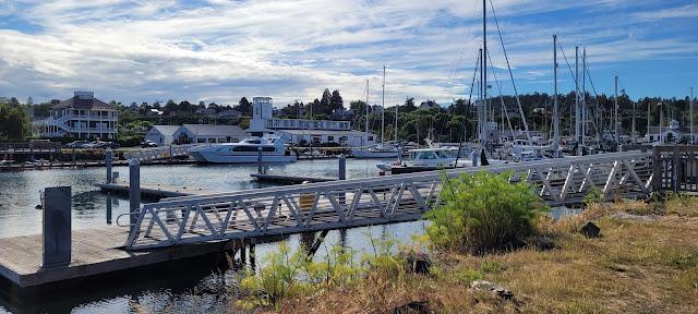 Port Hudson Marina at Port Townsend