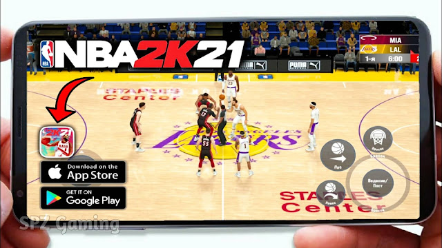 Download NBA 2K21 Mobile (Android/iOS) Ultra Graphics | Download Link Apk+Obb