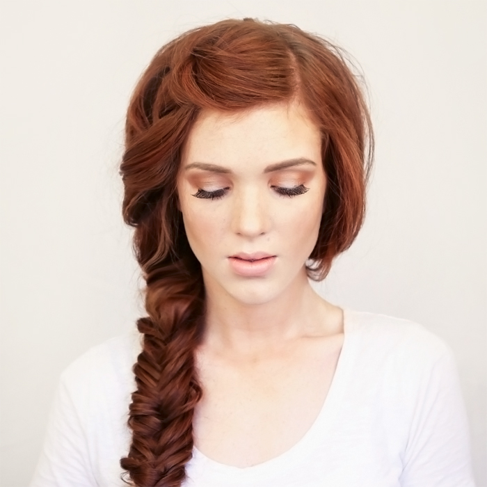Bohemian Side Braid Festival Hair Tutorial
