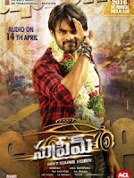 Sai Dharam Tej, Rashi Khanna 2016 Movie Supreme is collect 44.43 Crores and it budget (Cost) 30 Crores.