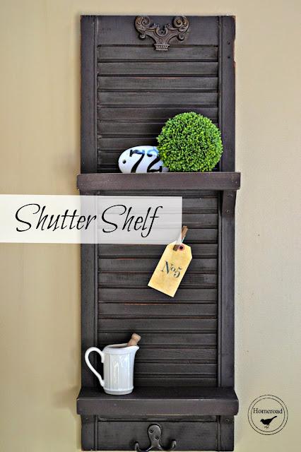 Shutter Shelf with overlay