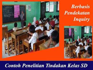 Contoh Penelitian Tindakan Kelas SD (PTK Berbasis Inkuiri)