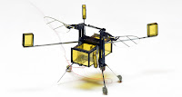 The lightest robot. A biologically inspired microrobot.