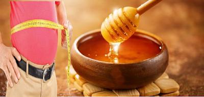 العسل , انقاص الوزن