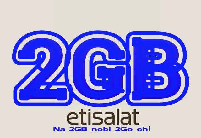 Etisalat 2GB for 2000 cheapest data plan