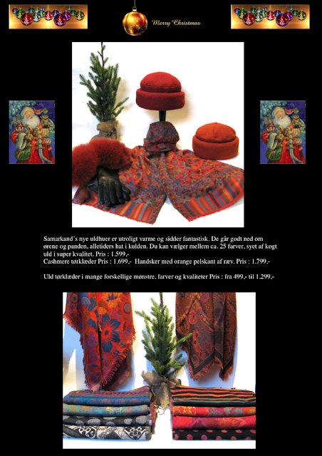 samarkand jul, samarkand onlineshop, samarkand julegave ideer, jane eberlein, uldtørklæder, uld huer, uld tørklæder, cashmere tørklæder, muffedisser, pelshatte, samarkanddk, julegave ideer, gaven til hende