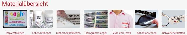 Folien, Sicherheitsfolien, Hologramm-Etiketten