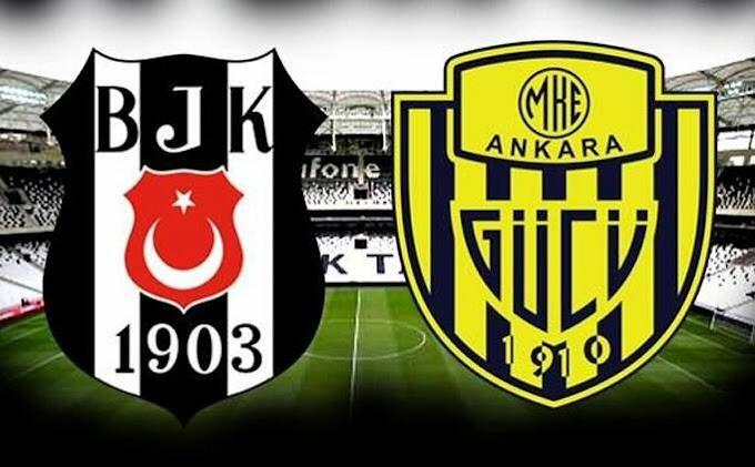 Beşiktaş MKE Ankaragücü  Canlı maç izle şifresiz maç izle