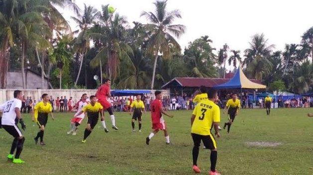 Jihar News, Padang Sikabu CUp II, GTSB Menag 1 - 0 Dengan PSAP