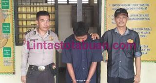 Kakak Angkat Pelaku Pencabulan Anak Dibawah Umur Ditangkap Polsek Talang Padang