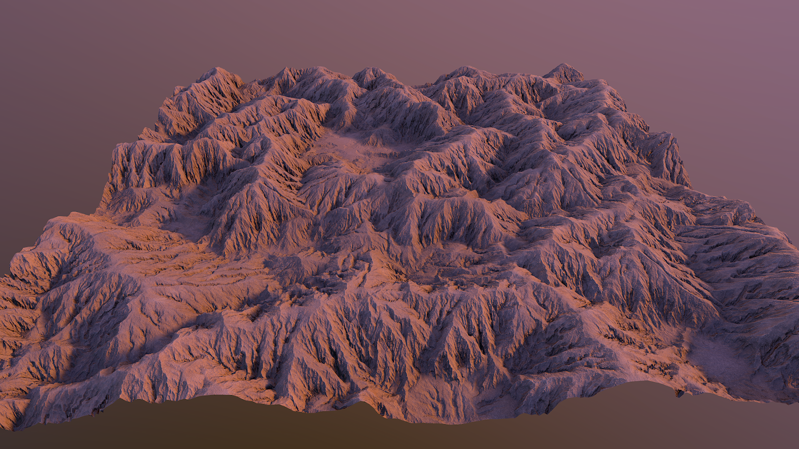 Desert mountains material PBR tessellation unreal4 unity sunset light setup Igor Novik 3d artist
