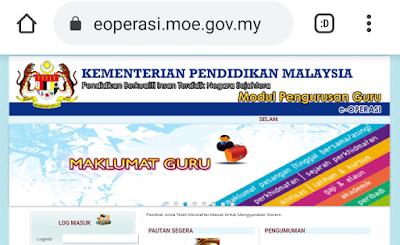 Portal eOperasi