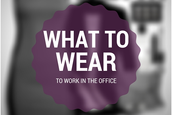 How to wear a dress for work