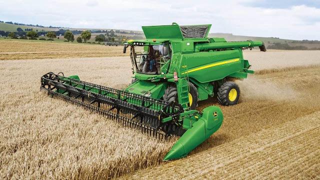 The combine harvester