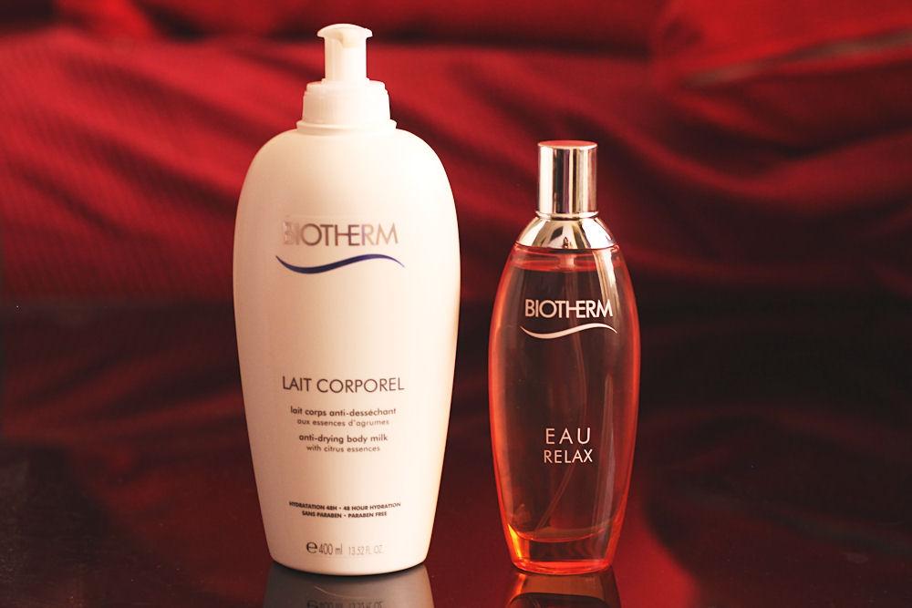 Lait Corporel & Eau Relax Biotherm recension