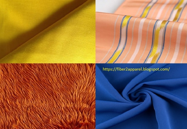 Silk fabric types