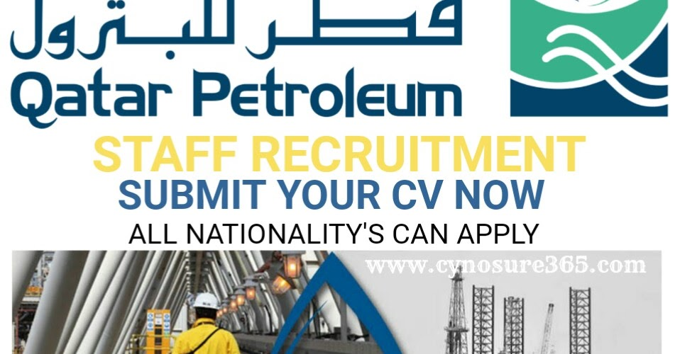 QATAR PETROLEUM RECRUITMENT 2019 - CYNOSURE365