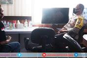 Wujud Kerjasama Polri dengan Awak Media, Pimpinan Redaksi Temui Kapolres Wajo