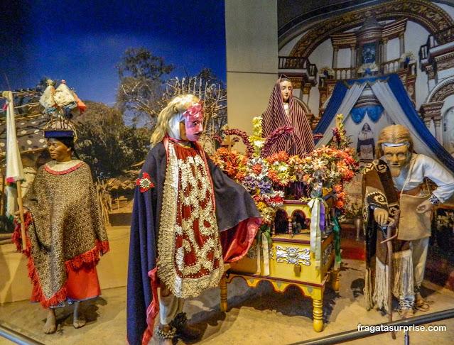Sessão de Etnografia, Museu Nacional de Antropologia do México