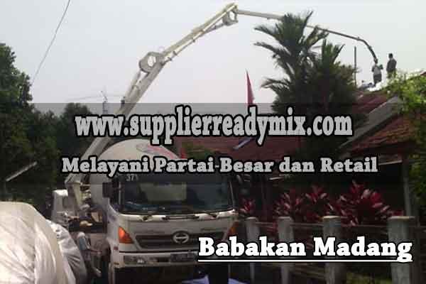 Harga Beton Ready Mix Babakan Madang