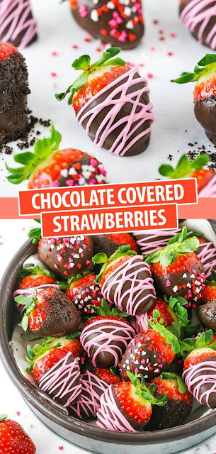 Easy Chocolate Covered Strawberries - How to Make and Decorate!
