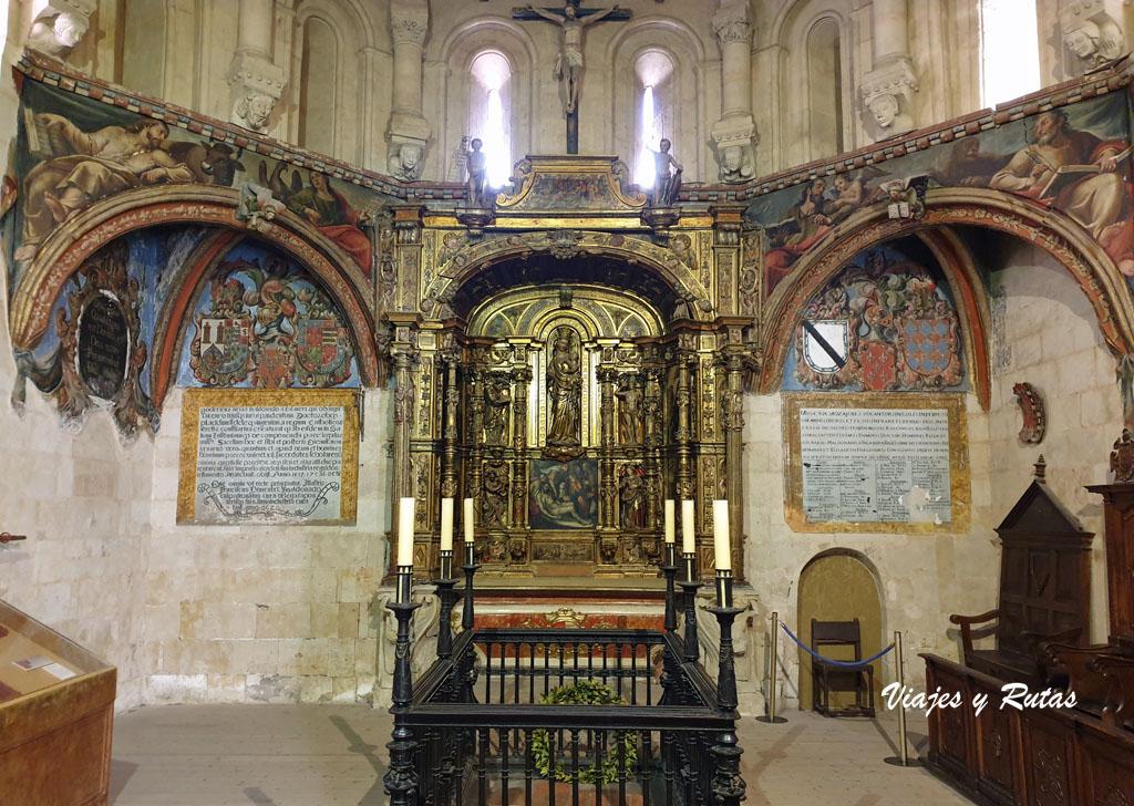 Capilla de Santa Bárbara de la catedral Vieja de Salamanca