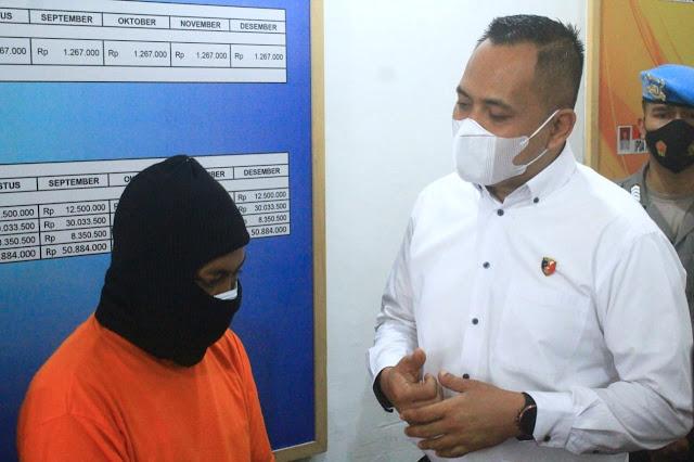 Untung besar, tukang ojek asal Mataram ketagihan jual sabu