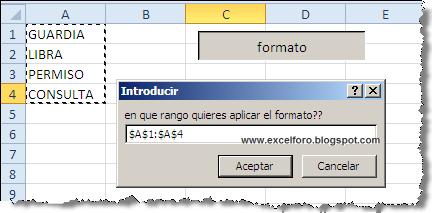 Excel Foro Ejercicios Ejemplos Soluciones Dudas Vba