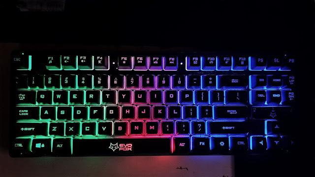 amkette evofox fireblade keyboard review