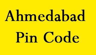 Ahmedabad Pin Code