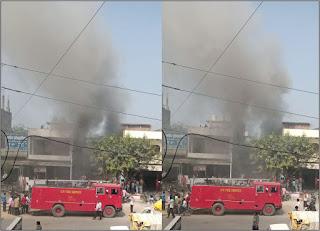 घर में लगी आग, हजारों के नुकसान का अनुमान | #NayaSaberaNetwork
