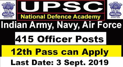 UPSC NDA -II Exam 2019