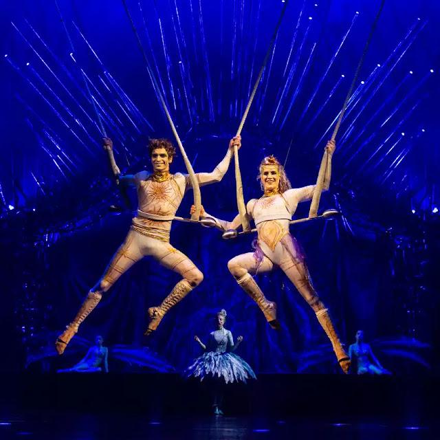 Alegria Cirque du Soleil trapézistes