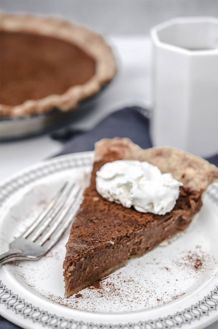 The best new fall dessert recipe - Apple Butter Pie